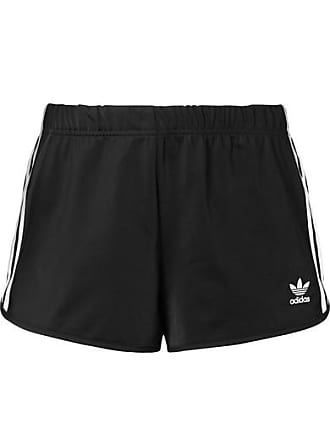 a00555fcb2 adidas Originals Striped Satin-jersey Shorts - Black