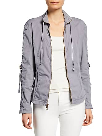 Xcvi Kiri Ruched Zip-Front Jacket