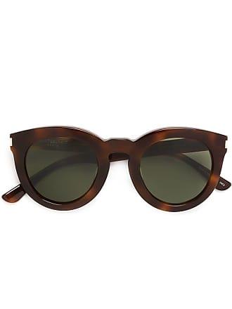 Saint Laurent Eyewear Óculos de sol SL 102 Surf - Marrom