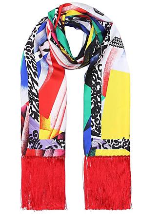 Versace Exclusivité Mytheresa - Foulard en soie imprimée à franges 0f3cac30c9e