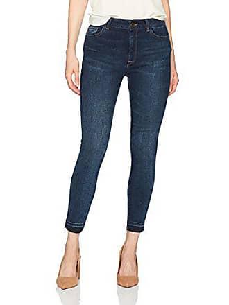 DL1961 Womens Farrow Instaslim Cropped High Rise Skinny Jean, Wander, 30