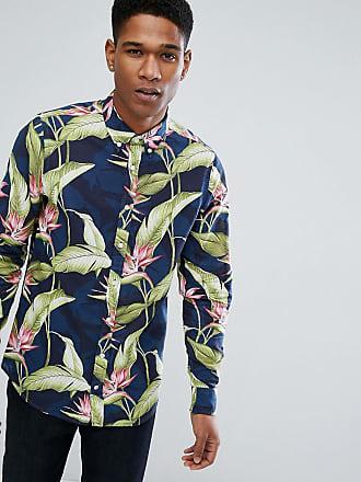 30f81975488 Tommy Hilfiger Skjorta med paradis-mönster - Flerfärgad
