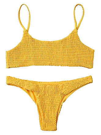 b01cf50e4a Yellow Bikinis: 54 Products & up to −82% | Stylight