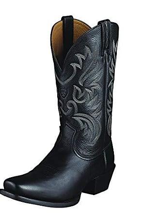 Ariat Ariat Mens Legend Western Boot, Black Deer tan, 7 D US