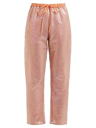 405862f7 Ashish Sequin Embellished Drawstring Trousers - Womens - Beige