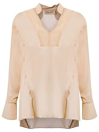 Adriana Degreas Camisa de seda ampla - Neutro