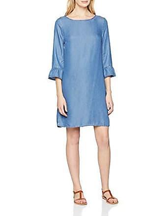 ab8c1d4d7af744 Esprit Damen 029EE1E027 Kleid, Blau (Blue Medium Wash 902),  Herstellergröße: 34