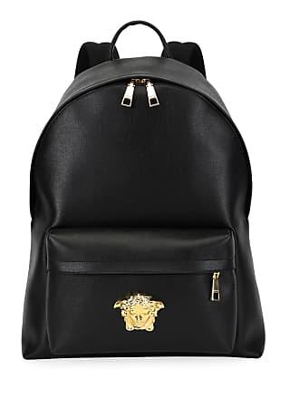 Versace Mens Leather Medusa Backpack