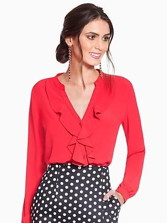 Principessa Camisa Feminina Vermelha Principessa Lissa