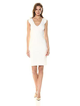 French Connection Womens Lolo Classic Stretch Bodycon Sleeveless Dress 981eff105