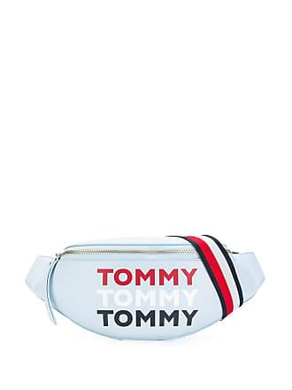 Tommy Hilfiger Bolsa com logo - Azul