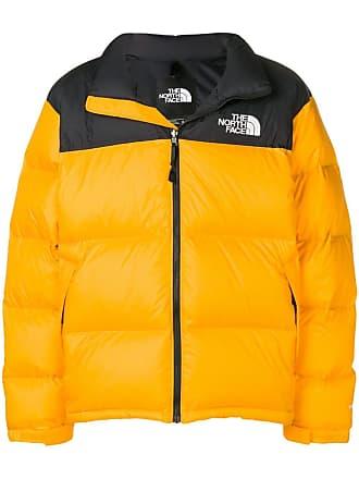 The North Face colour block padded jacket - Orange