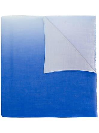 Snobby Sheep blue two tone scarf - Azul