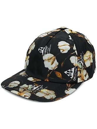 Off-white Cappello da baseball a fiori - Di Colore Nero a22ac0996e0f