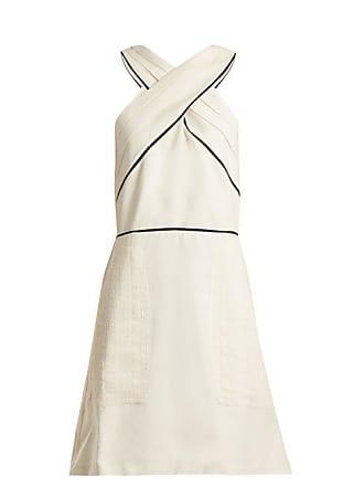 a5564709cfc Zeus + Dione Helen Pleated Silk Dress - Womens - Ivory