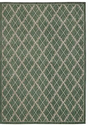Nourison Rug Squared Wellesley Contemporary Area Rug (WEL01), 7-Feet 9-Inches by 10-Feet 10-Inches, Light Green