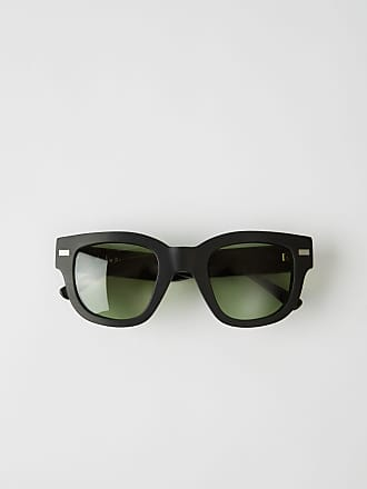 Acne Studios Frame Metal Black/green Square frame eyewear