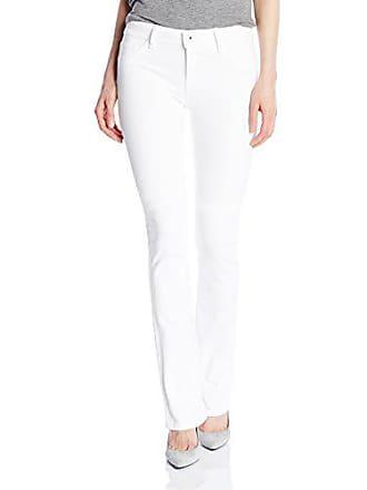 DL1961 Womens Elodie Instasculpt Boocut Jeans, Milk, 23