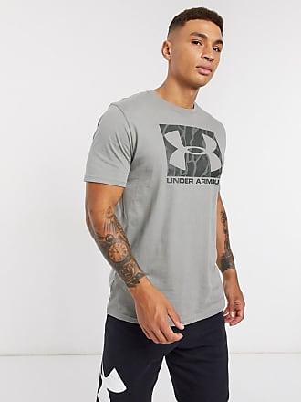Under Armour Team Issue - T-shirt grigia con logo-Grigio