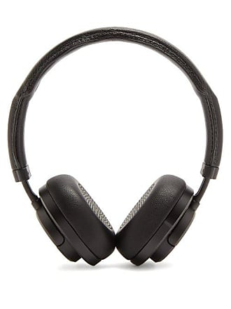 Master & Dynamic Mw50 Leather On Ear Wireless Headphones - Mens - Black