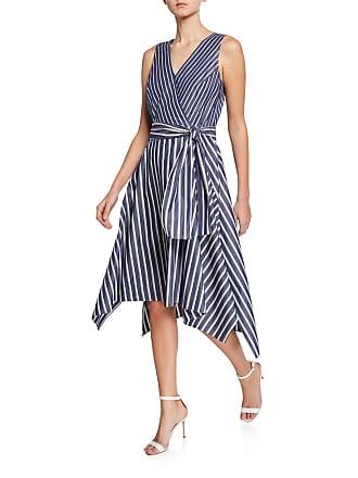 1d4966e8 Lafayette 148 New York Demetria Regal-Striped Sleeveless Dress