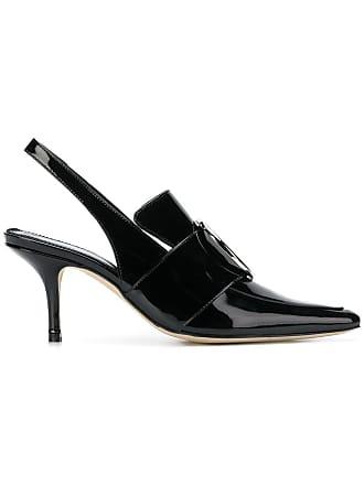 DORATEYMUR slingback toe pointed pumps Noir qR01YU
