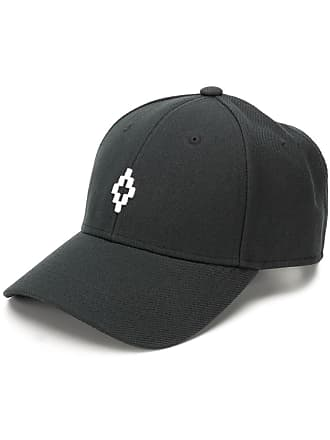 Marcelo Burlon Cross logo baseball cap - Black