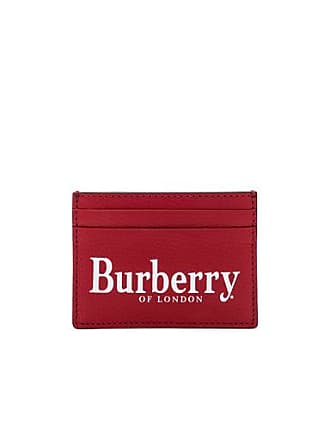 Burberry Sandon Card Holder in Red