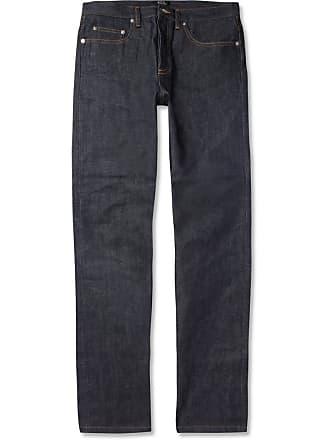 A.P.C. New Standard Dry Selvedge Denim Jeans - Indigo