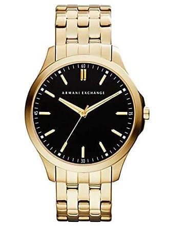 Armani Relógio Armani Exchange Masculino Dourado Analógico AX2145/4PN