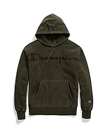 d0740004 Champion LIFE Mens Reverse Weave Pullover Hoodie, Hiker Green Small