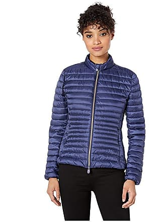 b67829f76fa Save The Duck Non Hooded Basic Jacket (Navy) Womens Clothing