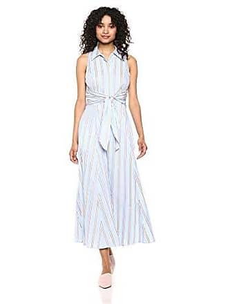 6cf042d4fc4 Tommy Hilfiger Womens Cotton Shirt Dress Maxi, Ballerina Pink Multi, 16