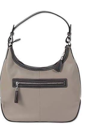 Novica Leather hobo bag, Blissful Taupe