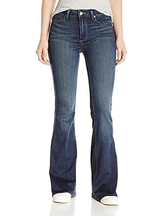 Paige Womens Petite Size High Rise Bell Canyon Jeans-Nottingham, 25