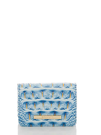 Brahmin Mini Key Wallet Cerulean Melbourne