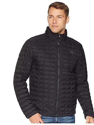 3192438def The North Face ThermoBall Jacket (TNF Black Matte 1) Mens Coat
