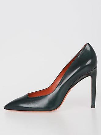 e38833ecfe1593 Santoni 11cm Leather Decolletes Größe 37