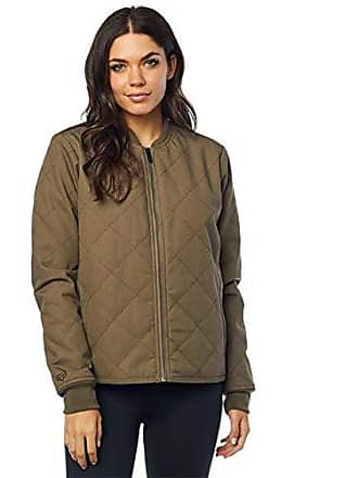 Fox Juniors Cosmic Quilted Insulated Bomber Jacket, bark XS