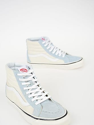 eb84fda696d87e Vans Fabric and Leather SK8-Hii Sneakers Größe 45