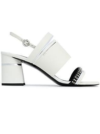 4ccc57bf7c5 3.1 Phillip Lim 3.1 Phillip Lim Woman Drum Studded Leather Slingback  Sandals White Size 36