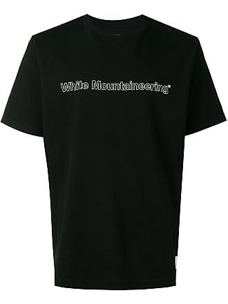 White Mountaineering Camiseta estampada - Preto