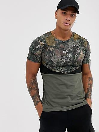 Hype camo chevron t-shirt-Green