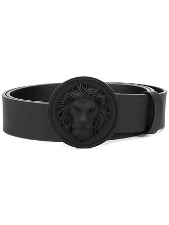 Versus lion buckle belt - Black