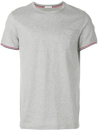 Moncler Camiseta com bolso - Cinza