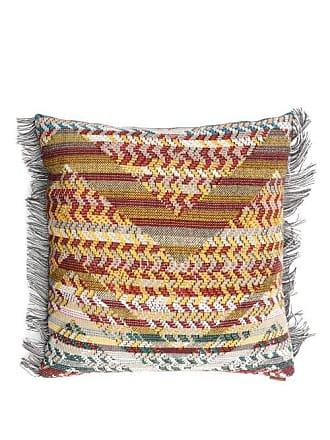 Missoni Home Yannoulis Dolomiti Zigzag-jacquard Cushion - Womens - Brown Multi