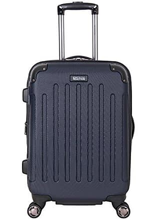 Kenneth Cole Reaction Kenneth Cole Reaction Renegade 20 Hardside Expandable 8-Wheel Spinner Carry-on Luggage, Navy