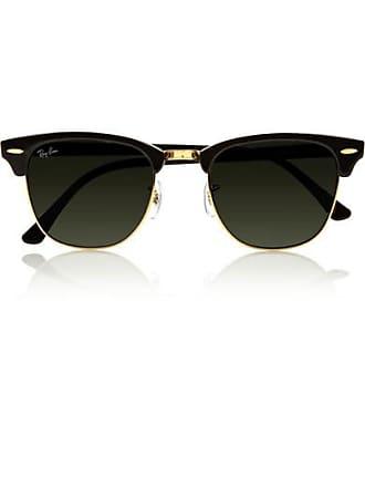 Ray-Ban Clubmaster Acetate Sunglasses - Black