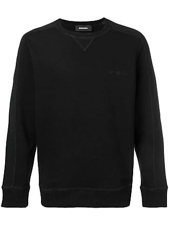 Diesel classic plain jersey sweater - Black