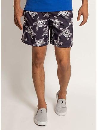 Aleatory Shorts Aleatory Estampado Midnight Turtle-Azul Marinho-M
